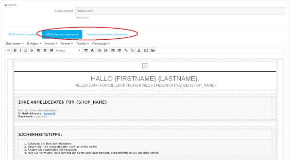 Prestashop E-Mailvorlage anpassen